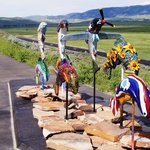 Colorful Sculpture Trail