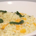 Seasonal Butternut Squash Risotto