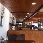 Crans-Montana - Restaurant Les Violettes - l'intérieur