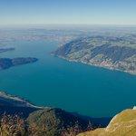 Vista para o Lago de Lucerna