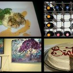 Get your fill of dinner, desserts, wine and loca art!