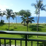 View from room and patios, Ocean Front
