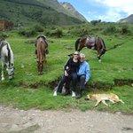 Horseback ride to the Pumamarca ruins