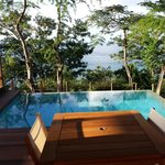Private pool at Zabuco