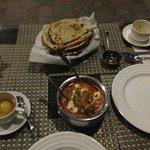 The best Garlic Naan in India
