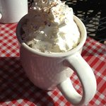 OH YUM.  As good as it looks - hot chocolate