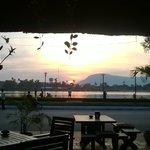 View from Kampot Riverside Hotel bar