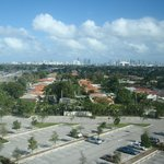 Beautiful view of Miami from our room.