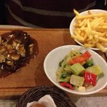 the steak dish at Faros