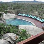 Cool Pool and Serengeti plains beyond