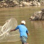 Fishing the hard way