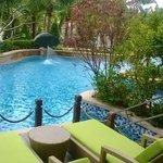 Pool outside Patio