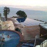 Vista da piscina esterna superiore