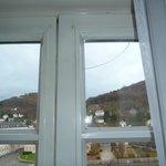 Fenster mit Riss