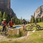 Easy, intermediate and expert rides: every mountainbiker finds the ride tour in Val Gardena