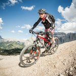 Ellis is also MTB guide and loves to bike in the Dolomites