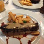 steak and chips - a world favourite!