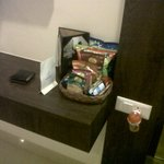 Snacks Tray in the Room