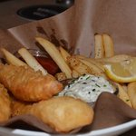 Fish n' Chips - delicous! Not greasy