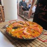 Paella excellente