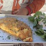 omelette gruyère