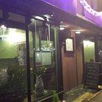 Front of the lovely restaurant