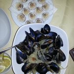 Mussels and cockles