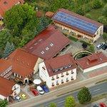 Gasthof Schondelmaier als Luftaufnahme von 2013