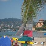 La Ropa view toward Madera Beach