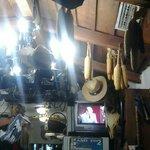 Dal soffitto