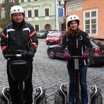 Our trip on segway:-)