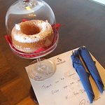 Welcome Donut Cake