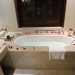 Loft Villa No. 24 - Bath Tub with Rose Petals (love it!)