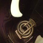 Tarnished heating coil in kettle (sent back the kettle with coffee stains-that pic is more graph