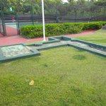 mini golf - no carpet