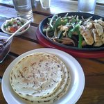 Lunch - Fajitas