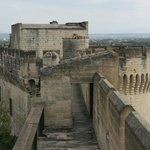 Le chemin de ronde du fort St André