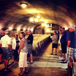 Wine Cave Tour!  Happy Canyon