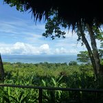 view from our bungalow