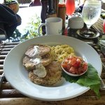 Central american corn cakes, yummy breakfasts!