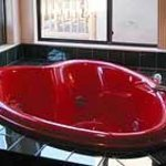 One of our in-cabin Jacuzzi tubs