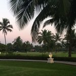 Taj grounds in the evening