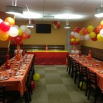 We can host parties!