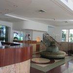 Reception desk and concierge