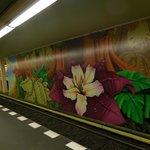 murales della stazione metropolitana di Spandau