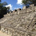 Ball court (or Mayan Quidditch)