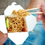 Take-away noodles