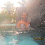 água quente muito relaxante, amei!!!