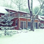 Beautiful Winter pic of the Inn