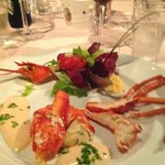 Lobster appetizer